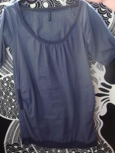 robe nafnaf bleu