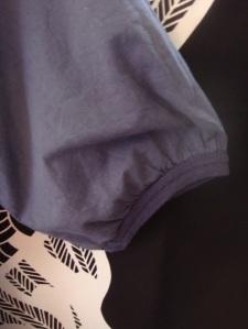 robe nafnaf bleue 3