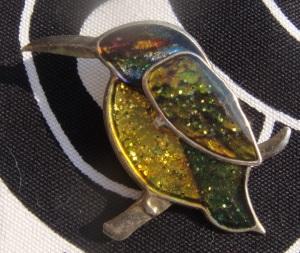 broche colibri