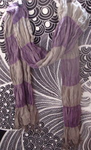 écharpe promod violet